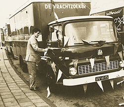Openings vervorcentrum Alkmaar in 1969